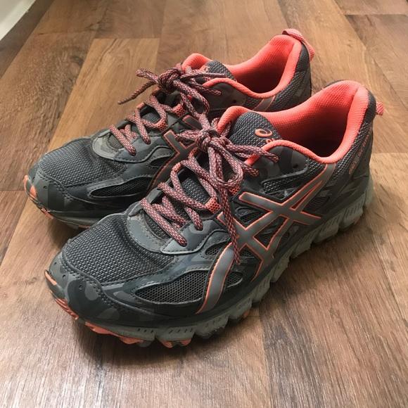 new product 4fa57 b206f ASICS Gel Scram 3 Trail Running Shoes
